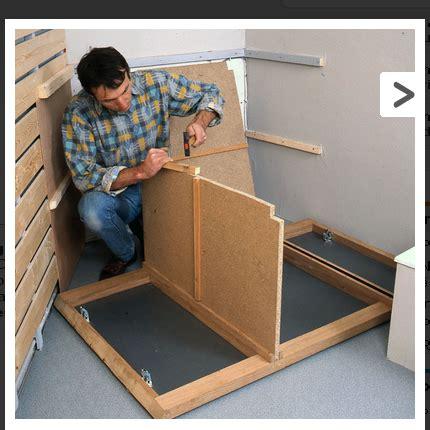 rideau coulissant meuble cuisine comment fabriquer soi même un meuble pour le lavabo