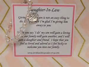 Bridal Shower Wishes For Bride by Future Daughter In Law Wedding Gift Bracelet By