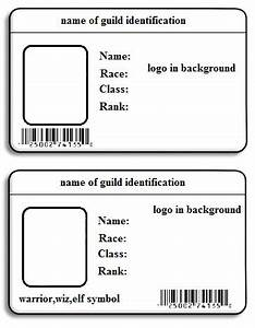 7 best images of id name badge templates printable free With identification badges template