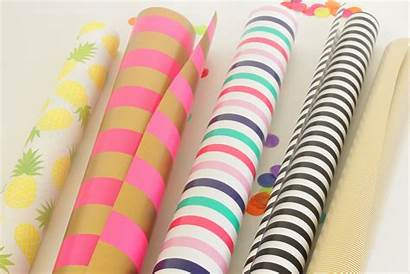 Wrapping Paper Wall Artwork Crafts Deco Tutorial
