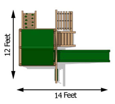 cedar swing sets  bailey space saver climber
