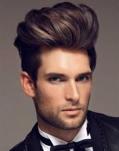 the gallery for gt modern pompadour haircut