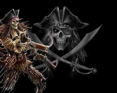 Skull Wallpapers Skeleton Pirate 3d Dark 3dwallpapers