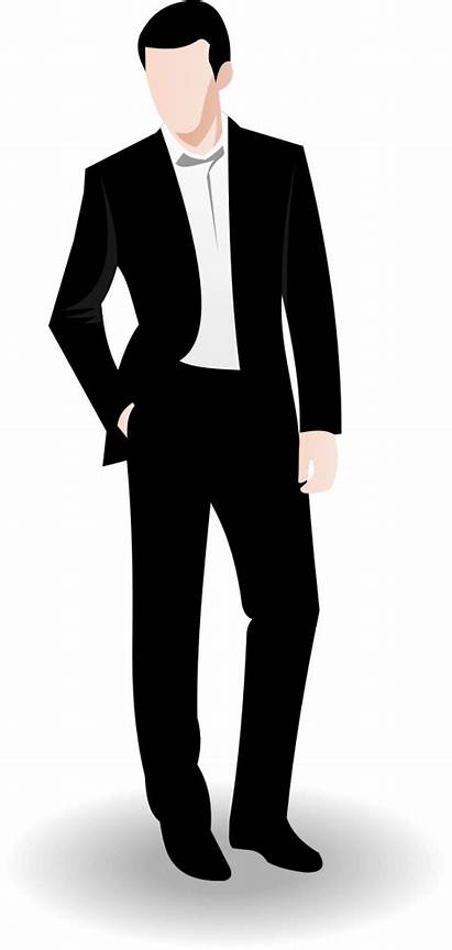 Business Clipart Clip Vector Male Businessman Suit