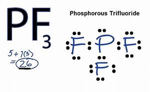 PF3 Lewis Structure - How to Draw the Lewis Structure for ...