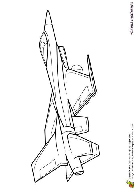 dessin 224 colorier d un avion moderne un jet militaire avion de chasse coloriage l