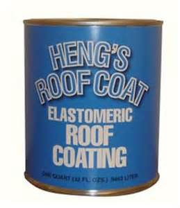 White Rubber Roof Coating