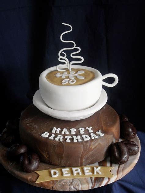 When we were growing up, my mom always made our birthday such a big. Coffee — Food This is so cute! www.gloversgrind.organogold.com   Coffee cake, Starbucks cake ...