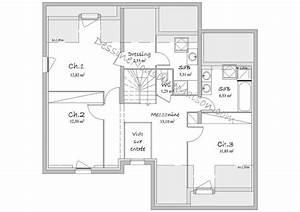 Plan De Maison D Architecte : plan de maison d architecte gratuit complet 10 rectangle plans maisons ~ Melissatoandfro.com Idées de Décoration