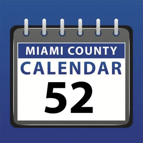 miami county indiana miami county calendar