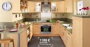 Plan De Travail Chene Blanchi : cuisines lapeyre 2013 le catalogue 20 photos ~ Premium-room.com Idées de Décoration