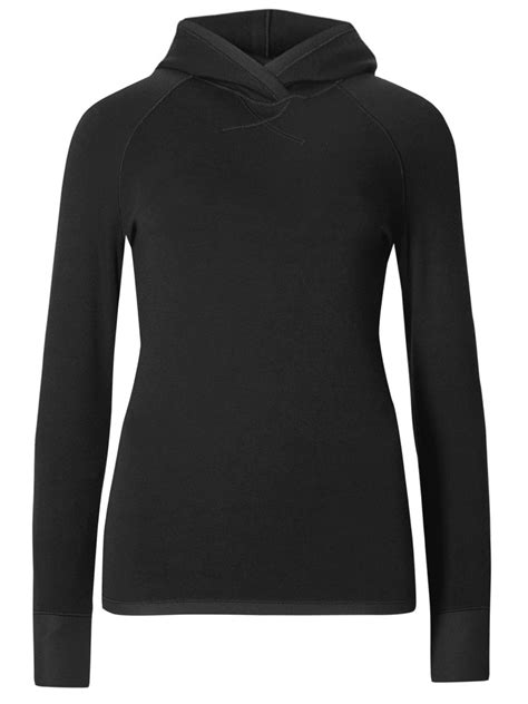 Marks and Spencer - - M&5 BLACK Heatgen Thermal Hooded Top