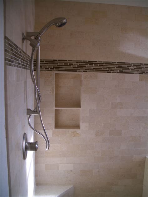 subway tile ideas for bathroom how to build a niche for your shower part 4