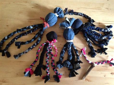 Toys, Dog, Socken, Krake, Spielzeug, Handmade