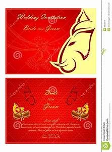 indian wedding invitation card stock vector image 48582516 With hindu wedding invitations vector