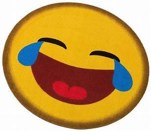 Teppich Gelb Rund : teppich rund my home emoji lachend getuftet otto ~ Frokenaadalensverden.com Haus und Dekorationen
