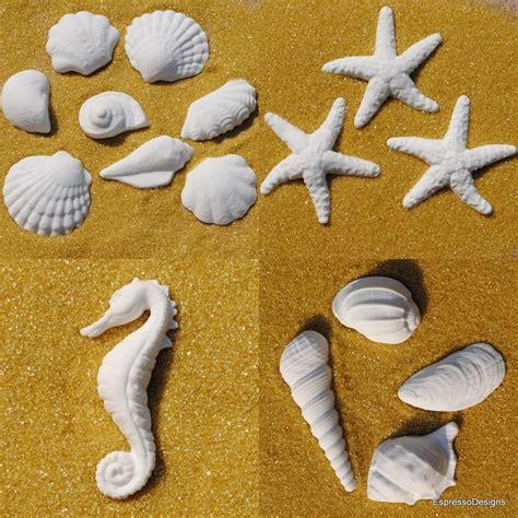 gumpaste shells starfish beach wedding fondant cake ebay