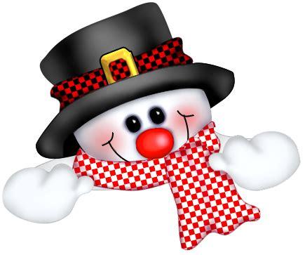 Cute Christmas Snowman Clip Art