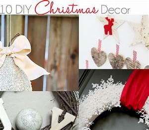 10 diy christmas decor ideas little inspiration With diy christmas curtains