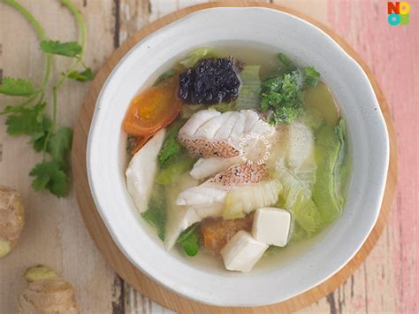 fish soup grouper recipe singapore recipes noobcook chinese hawker healthy