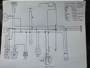 Voltage Reg Wiring On Single Circuit Ac Cdi  By Willc