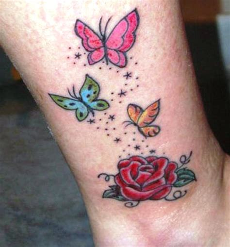 small colorful butterfly tattoos small butterfly tattoos