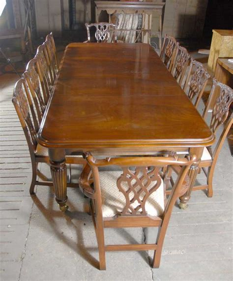 foot english victorian dining table tables