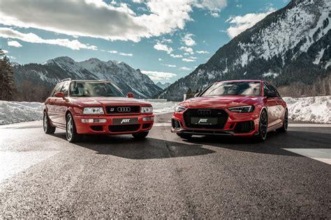 Audi Rs 4 Audi Rs2 by To θρυλικό Audi Rs2 δίπλα στο Rs4 του Abt στις