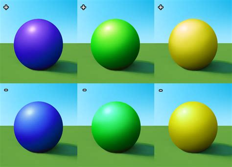 color shading the indirect light sources