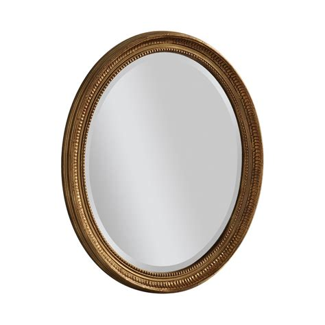 distressed mirror glass oval mirror gold oval mirror 110 x 80 cm ee488