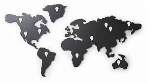 Carte Du Monde Metal : carte du monde magn tique mappit ~ Teatrodelosmanantiales.com Idées de Décoration