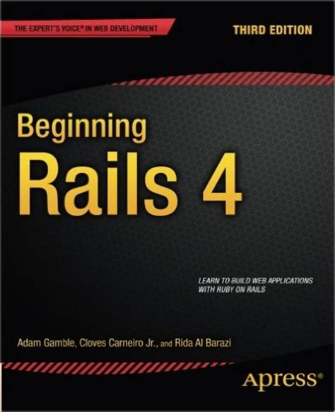 rails ruby books beginning five read infinigeek resolution