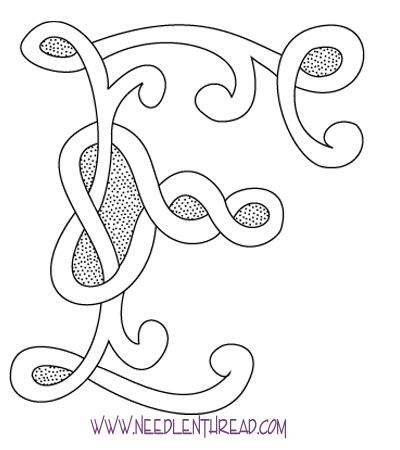 alphbet hand embroidery pattern lena patterns
