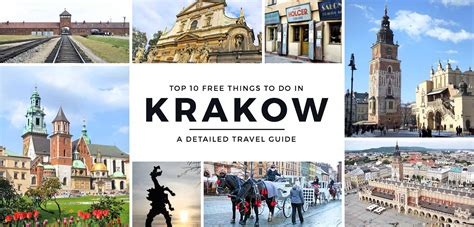 tourism bureau travel guide top 10 free things to do in krakow poland