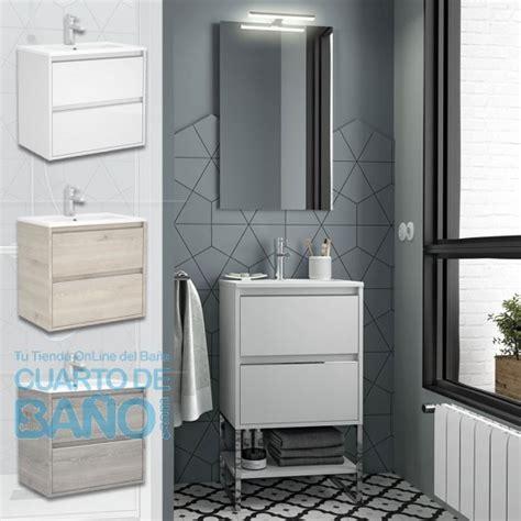 mueble bano  salgar  cm  fondo reducido lavabo