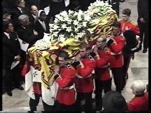 Princess Diana's Coffin is Carried into Westminster Abbey ...