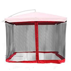 amazon com gazebo top mosquito netting for 9 x9 square