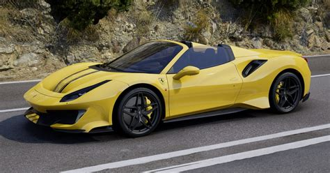 The ferrari 488 pista is powered by the most powerful v8 engine in the maranello marque's history and is the company's special series sports car with the highest level yet of technological transfer from racing. Ferrari 488 Pista Spider 1:18   MR Collection Models