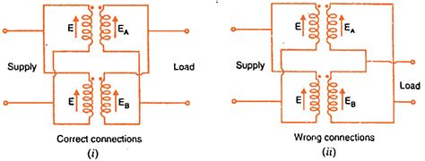 Parallel Operation Single Phase Transformers