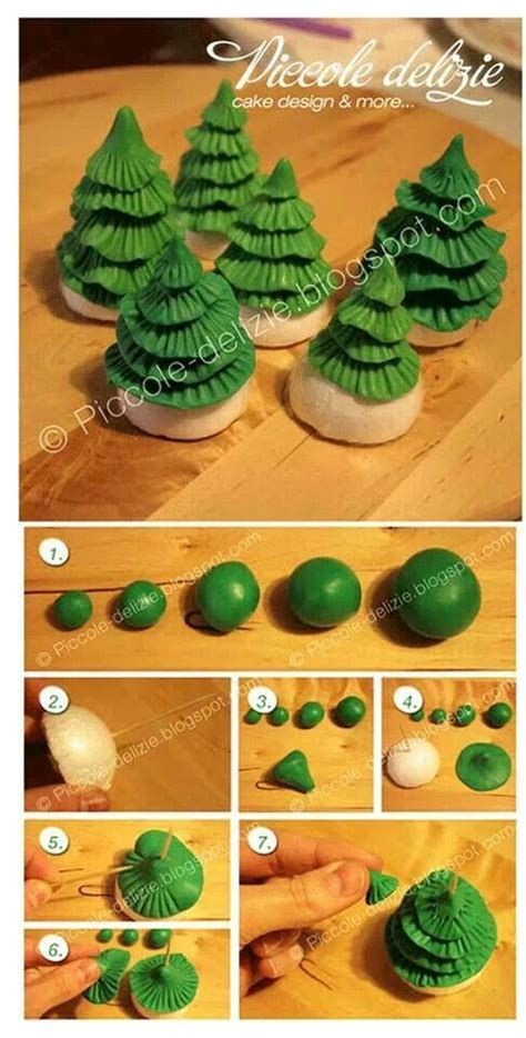 easy classy christmas tree from fondant best 25 fondant tree ideas on fondant flowers fondant tutorial and sugar