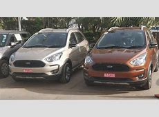 Ford Freestyle spotted in multiple colours ahead of April