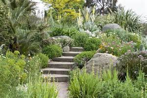 Small Garden with Step Stones