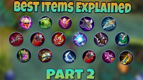 mobile legends items best item explanation use item like a pro mobile