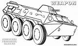 Weapons Coloring Weapon Armored sketch template