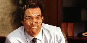 Reaction gif tagged with hi, derp, Jim Carrey, Yes Man