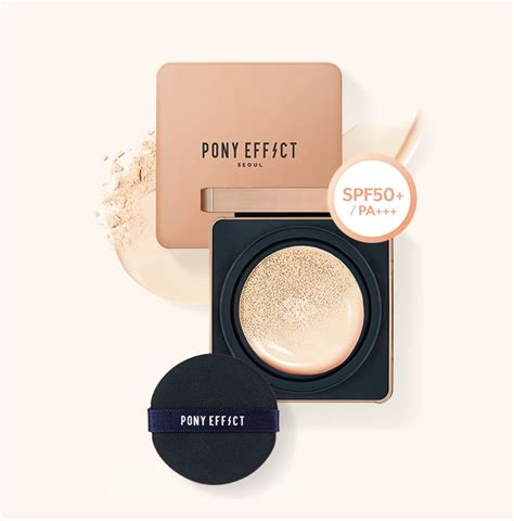 effect pony foundation cushion stay effe refill spf50 matte pa ice variation