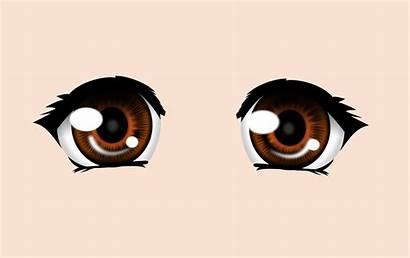Eyes Open Wide Clipart Anime Ojos Manga