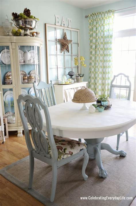 how to save tired dining room chairs with chalk paint