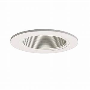 Halo coilex in white baffle recessed ceiling light trim