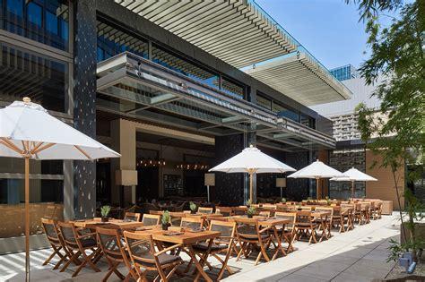 summer dining the open air terraces restaurants at a luxurious roppongi hotel grand hyatt